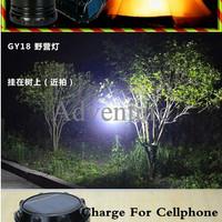 LAMPU CAMPING / POWER BANK /TENAGA MATAHARI / SOLAR
