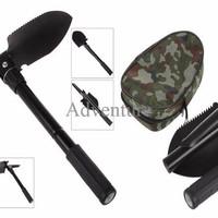 Multifunction Survival Shovel Alat Sekop Skop Cangkul Lipat Serbaguna