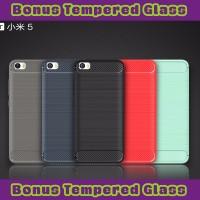 Softcase Soft Case Xiaomi Mi5 Mi 5 / Pro Viseaon Carbon Fiber TPU