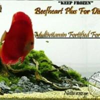 harga Pakan Ikan Beef heart Plus (Berger Polos) Discus, Louhan, dll. Tokopedia.com