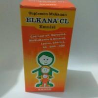 Vitamin Anak Menambah Nafsu Makan/Elkana CL sirup Rasa Jeruk