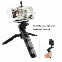 Jual Mini Tripod Jangka Lipat 2 in 1 holder Tongsis hp tablet camera gopro Murah