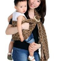 Gendongan Sling Modern baby sling ring pouch Cozyland