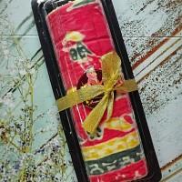 Batik Roll Cake Motif Batik Cianjuran