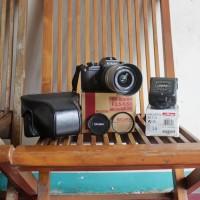Sale!!! Kamera Analog Nikon EM Komplit Set