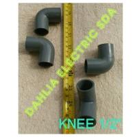 KNEE PVC 1/2 IN