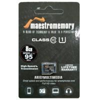 MicroSD HC MAESTRO 8GB C10 UHS-1 52MB/s - GARANSI RESMI V-GEN