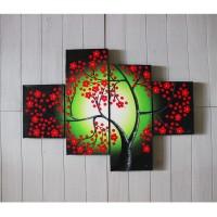 harga Lukisan Minimalis Bunga Sakura ( Hri-so-02 ) Tokopedia.com