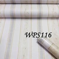 WALLPAPER STICKER 45CMX5M- WPS116-CREAM N LINE VECTOR