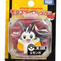 Figure Pokemon Monster Collection Emonga/Emolga(M-028) Ori TakaraTomy