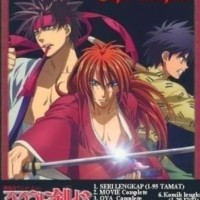 DVD Samurai X (Rurouni Kenshin) Complete