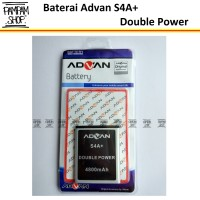 Baterai Handphone Advan S4A+ Original Double Power | Batre, Batrai, HP