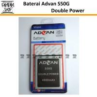 Baterai Handphone Advan S50G Original Double Power | Batre, Batrai, HP
