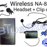 harga Mic Wireless Aiwa Na 801 (headset + Clip On) Tokopedia.com