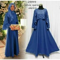 baju pesta/baju muslim/dress muslim/baju kondangan/baju gamis/dress