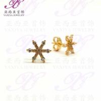 harga Yaxiya (cincin gelang kalung liontin) anting permata warna gold18k 051 Tokopedia.com