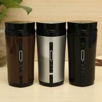 Jual Portable Rechargeable USB Heater Self Stirring Tea Coffee Mug Murah
