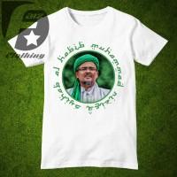 Kaos distro lengan pendek Design Habib Rizieq Syihab