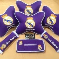 Bantal mobil Real madrid/madridista/chelsea/barcelona