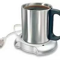 Jual Usb Cup Warmer Penghangat Minuman Kopi Coffee Tea Mug Dapur Murah