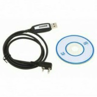 USB Programming Cable + CD Driver for Baofeng/ HT / Walkie Talkie
