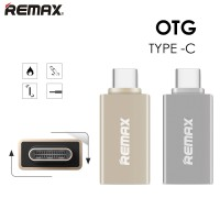Jual OTG Remax For USB Type C (USB 3.0 to USB 3.1 Type C) RA-OTG1 ORIGINAL Murah