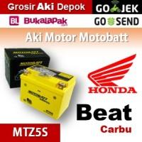 Aki Honda Beat Carbu 2010 MOTOBATT MTZ5S kering motor u/ GS Yuasa