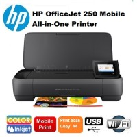 Printer HP OfficeJet 250 Mobile All-in-One wifi {portable HP wireless}