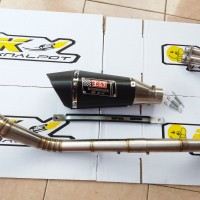 Knalpot Yoshimura R-11 Carbon Full Set CBR 250 RR New 2016, CBR 250R