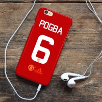 Manchester United Jersey Pogba Custom Case Xiaomi Note 3 Pro iPhone 5