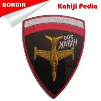 harga Emblem bordir bet badge patch bordir logo bordir komputer Hawk 200 Tokopedia.com