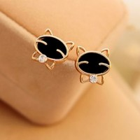 harga Fancy Cute Cat Earrings Stud - Anting Kucing Lucu E08 Tokopedia.com