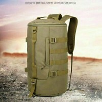 tas ransel selempang import 3 in 1/slempang army rounded/tas travel