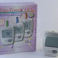 Alat Cek Easy Touch GCU 3 in 1 Gula Darah, Kolesterol, Asam Urat