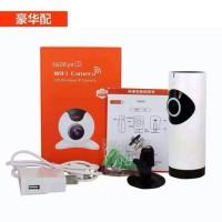 IP Camera HD 720P Panoramic Fisheye 360 Wireless 1.0MP