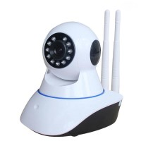 Ip Camera Wifi Security Double Antena P2P Two Way Audio HD 720P