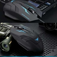 Rajfoo i5 Optical Wired USB Gaming Mouse 1600 DPI Laptop Komputer PC