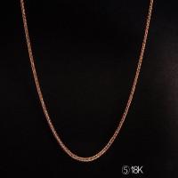 harga Tiaria Tiaria 18k Gold Necklace Top Design 20d5 Kalung Emas Wanita Tokopedia.com