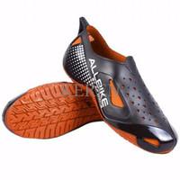 Sepatu Motor Biker ALL BIKE Orange Karet ALLBIKE Hitam Orange AP BOOTS
