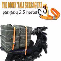 Tali pengikat barang di Motor Ratchet Tie Down Set gesper Tali Tiedown