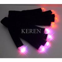 Sarung Tangan LED senter Glove Party Safety Konser Colorful LED Light