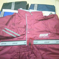ALL NEW! Jas Hujan Axio Europe Silver 882 2016 Raincoat 100% Original