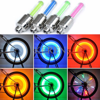 Bike Car Tyre Neon Wheel LED Tutup Pentil LED Ban Motor Mobil Sepeda