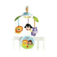 Fisher Price Keywind Newborn Precious Planet 2 in 1 Musical Mobile