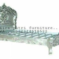 Racoco bed silver