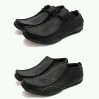 harga Sepatu Casual Pria Blackmaster Ferrari Warna Hitam Tokopedia.com