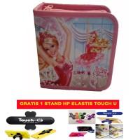 harga Tempat Cd / Cd Box Motif Barbie In The Pink Shoes 001 - Isi 40 Tokopedia.com