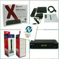 PAKET XTREAMER SET TOP BOX & ANTENA INDOOR TV DIGITAL