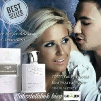 Parfum Pria Original Elegan Creed Silver Mountain Water