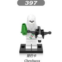Snow Chewbacca 397 Star Wars White Christmas Minifigure Lego KW X0132